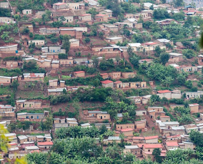 Foto Kigali Wohnviertel