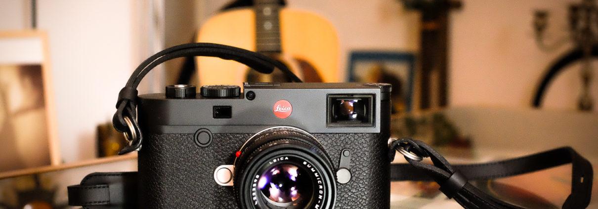 Leica M10 schwarz