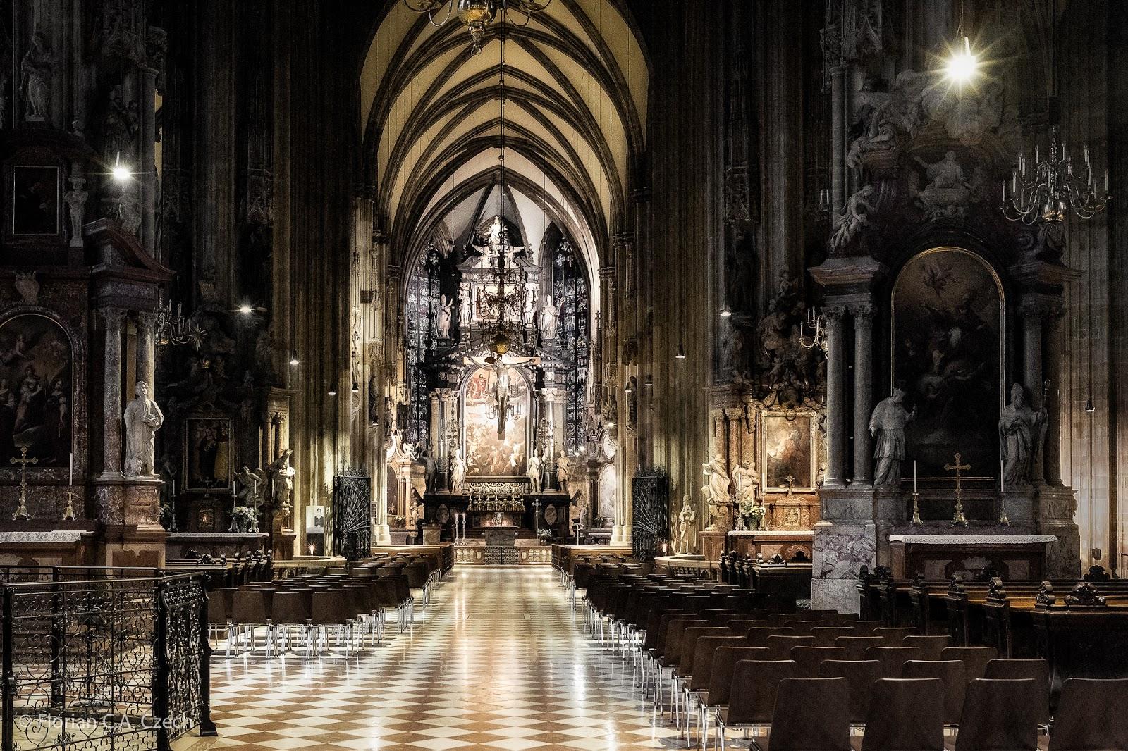 Stefanskirche von Innen
