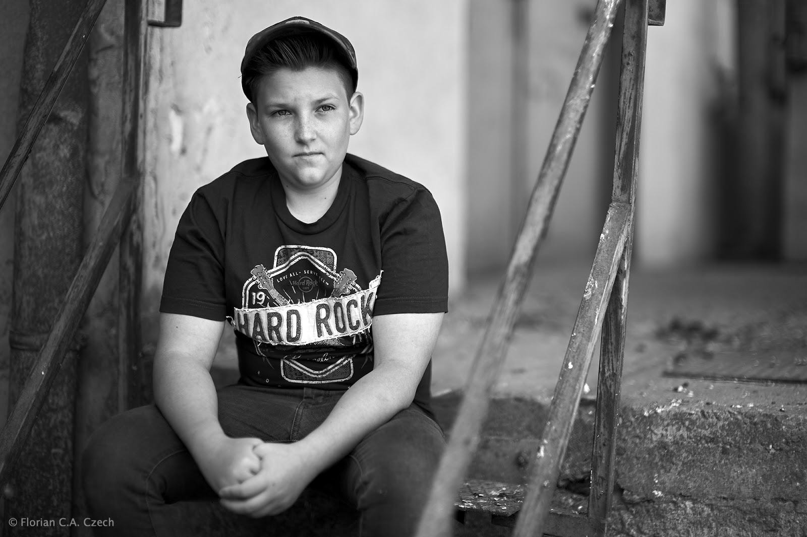 Porträt eines Jungen