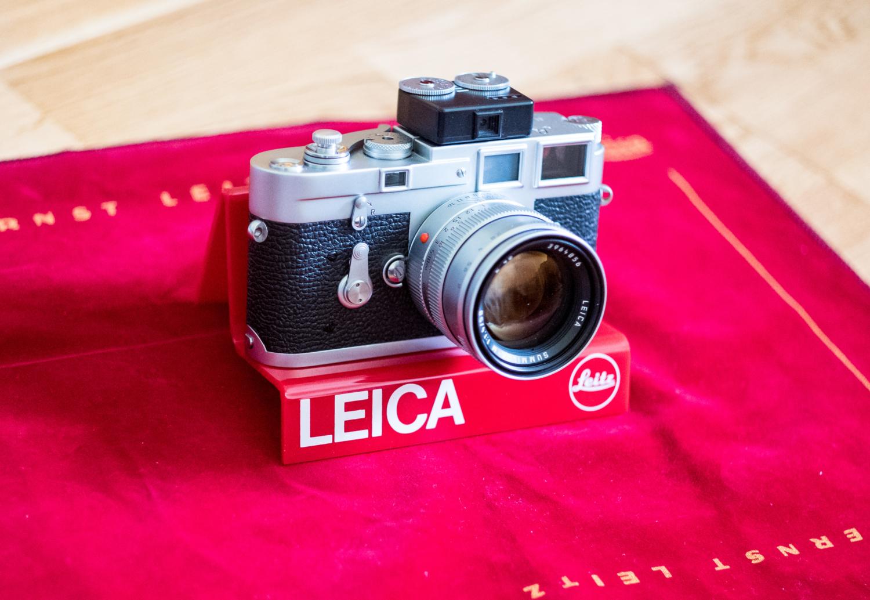 Leica M 50mm 1.4 pre-asph. an einer Leica M3