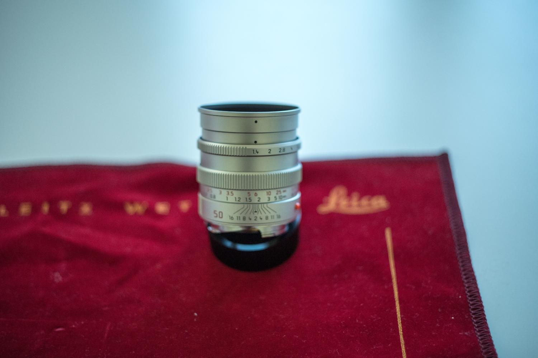 Leica M 50mm 1.4 pre-asph.