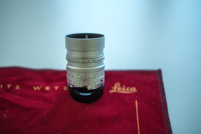 Leica M 50mm 1.4 asph.