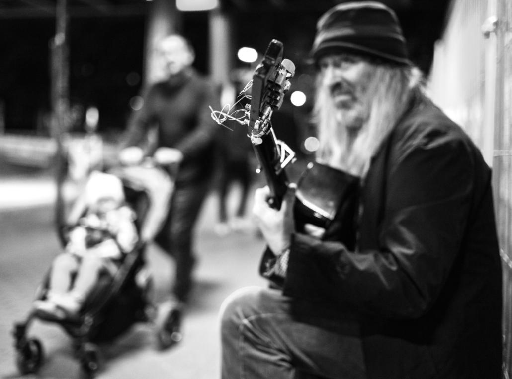 Straßenmusiker Leica M10-P