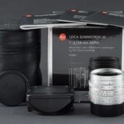 Leica M 28mm 2.0 ASPH. silber