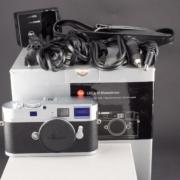 Gebrauchte Leica M Monochrom silber
