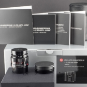 Leica M 50mm 2.0 APO LHSA black paint