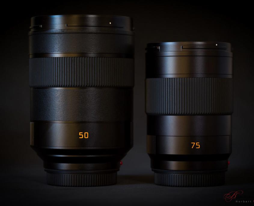 Leica SL 50mm 1.4 ASPH. Summilux vs. Leica SL 75mm 2.0 Summicron