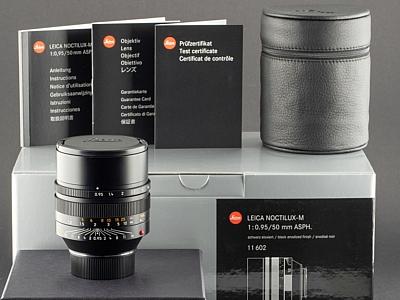 Gebrauchtes-Leica-M-50mm-0.95-Noctilux-11602