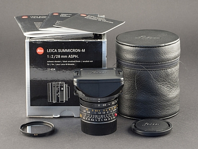 Gebrauchtes Leica M 28mm 2.0 asph. 6bit