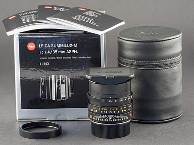 Gebrauchtes Leica M 35mm 1.4 FLE schwarz