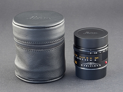 Leica APO-M 50mm 2.0 Summicron 6bit schwarz 11141