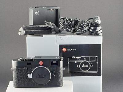 Leica M10 schwarz Typ 20000 vom 07.04.17