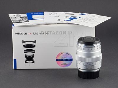 Zeiss 35mm 1.4 ZM silber Leica