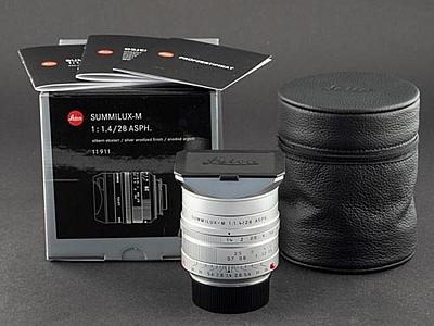 Leica M 28mm 1.4 Summilux silber 11911