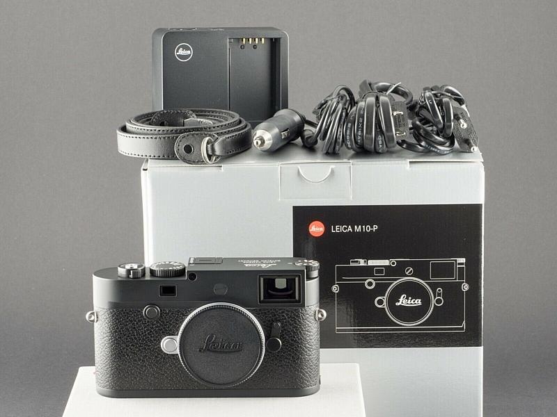 Leica M10-P schwarz Typ 20021 NEU