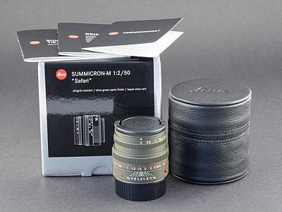 Gebrauchtes-Leica-M-50mm-2.0-Safari