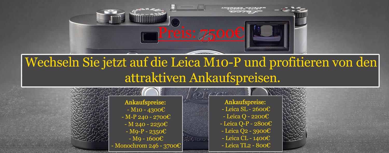 Leica M10-P Upgrade