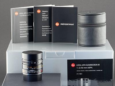 Leica M APO 50mm 2.0 schwarz 11141