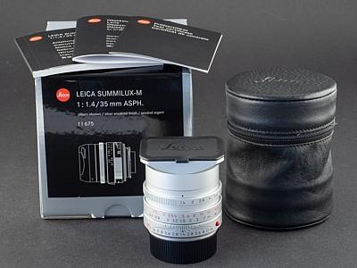 Leica M 35mm 1.4 FLE Summilux silber 11675