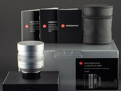 Leica M 50mm 0.95 Noctilux 11667
