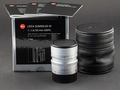Leica M 50mm 1.4 Asph. Summilux silber 11892