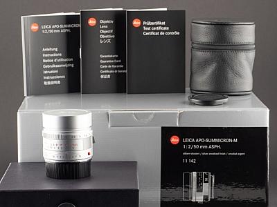 Leica M APO 50mm 2.0 Summicron silber 11142