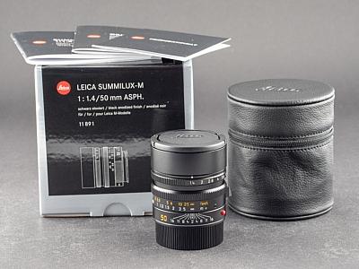 Leica M 50mm 1.4 Asph. Summilux schwarz 11891
