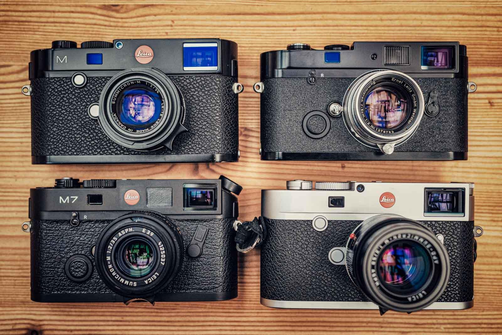 Leica M digital + Analog M7 + MP