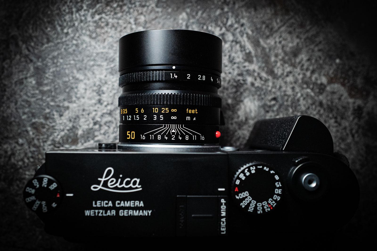 Leica M10-P + M 50mm 1.4